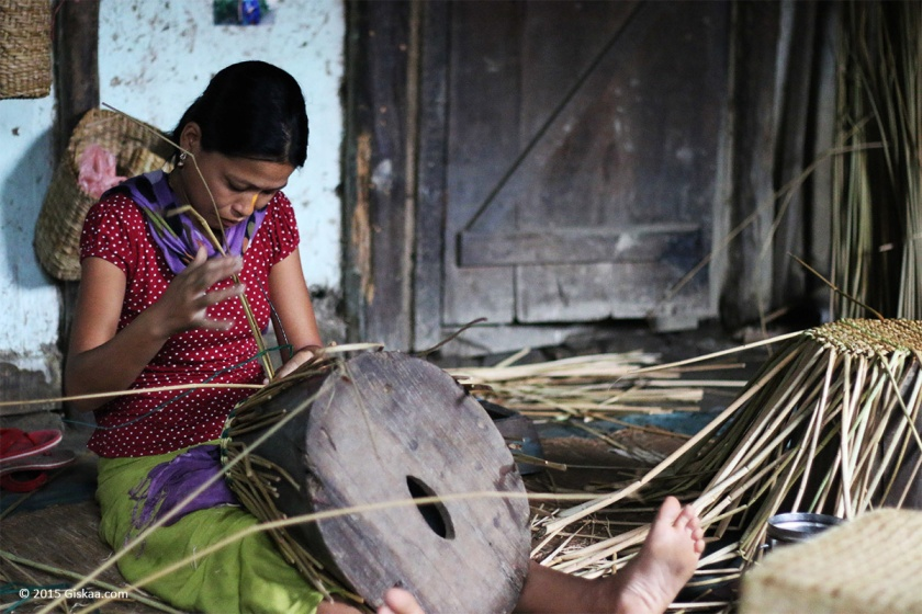 Kouna weaving